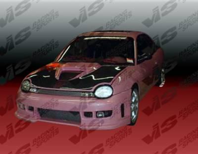 VIS Racing - Dodge Neon 4DR VIS Racing Z1 boxer Full Body Kit - 95DGNEO4DZ1-099