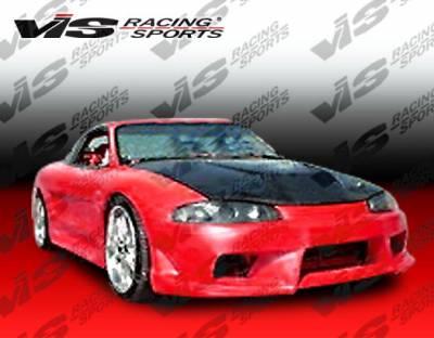 VIS Racing - Mitsubishi Eclipse VIS Racing A Tech Widebody Full Body Kit - 95MTECL2DATWB-099