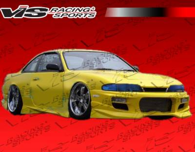 VIS Racing - Nissan 240SX VIS Racing V Spec S Full Body Kit - 95NS2402DVSCS-099