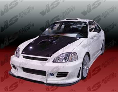 VIS Racing. - Honda Civic 2DR VIS Racing TSC-3 Full Body Kit - 96HDCVC2DTSC3-099