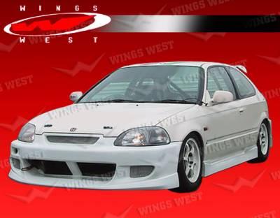VIS Racing - Honda Civic HB VIS Racing JPC A Full Body Kit - 96HDCVCHBJPCA-099