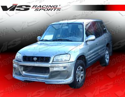 VIS Racing - Toyota Rav 4 VIS Racing Ballistix Full Body Kit - 96TYRAV2DBX-099