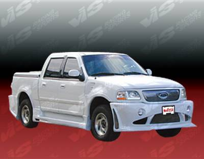VIS Racing - Ford F150 VIS Racing Outcast Full Body Kit - 97FDF154DSCOC-099