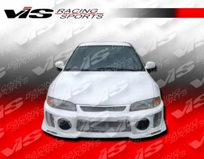 VIS Racing - Mitsubishi Mirage 4DR VIS Racing Evolution-5 Full Body Kit - 97MTMIR4DEVO5-099