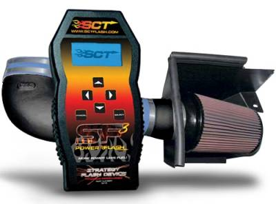 AM Custom - Ford Mustang Racer Cold Air Intake and SF3 Custom Tuner Combo - 99113