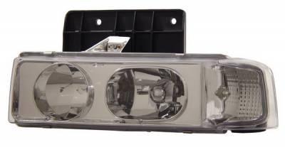 Anzo - Chevrolet Astro Anzo Headlights - Chrome - 1PC - 111001