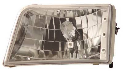 Anzo - Ford Ranger Anzo Headlights - Crystal & Chrome - 111036