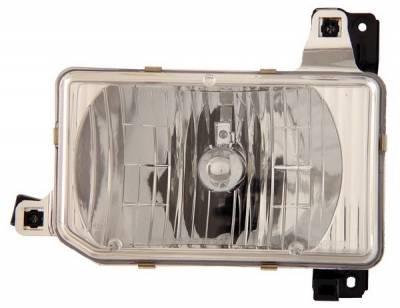 Anzo - Nissan Pickup Anzo Headlights - Crystal & Chrome - 111050