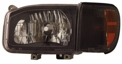 Anzo - Nissan Pathfinder Anzo Headlights - Crystal & Black - 111051