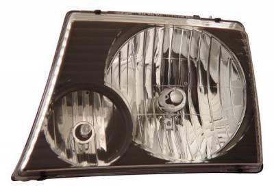 Anzo - Ford Explorer Anzo Headlights - Crystal & Black - 111058
