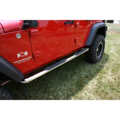 Outland - Jeep Wrangler Outland Nerf Step Bar