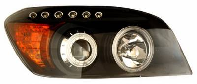 Anzo - Toyota Rav 4 Anzo Projector Headlights - Black & Clear with Halos - 111120
