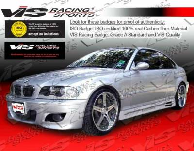 VIS Racing - BMW 3 Series 2DR VIS Racing M5 Full Body Kit - 99BME462DM5-099