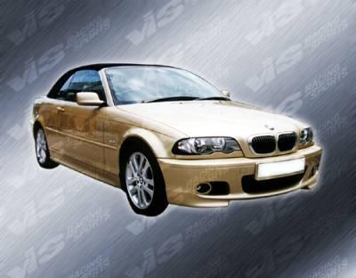 VIS Racing - BMW 3 Series 2DR VIS Racing M Tech Full Body Kit - 99BME462DMTH-099