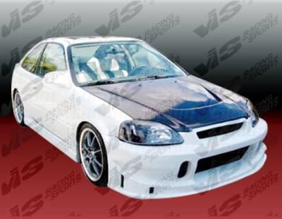 VIS Racing - Honda Civic 2DR VIS Racing TSC Full Body Kit - 99HDCVC2DTSC-099