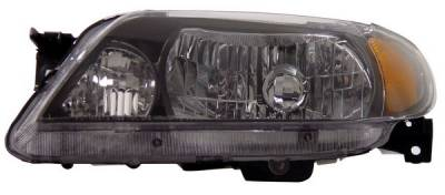 Anzo - Mazda Protege Anzo Headlights - Crystal & Black - 121107