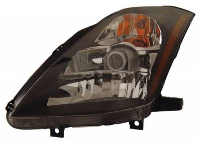 Anzo - Nissan 350Z Anzo Headlights - Crystal & Black - 121108