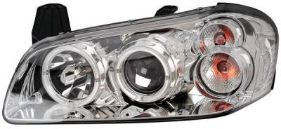 Anzo - Nissan Maxima Anzo Projector Headlights - with Halo Chrome - 121112