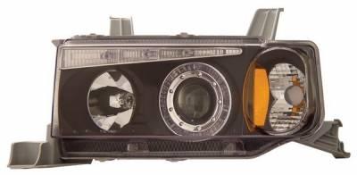 Anzo - Scion xB Anzo Projector Headlights - with Halo Black - 121117