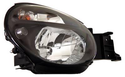 Anzo - Subaru Impreza Anzo Headlights - Crystal & Black - 121121
