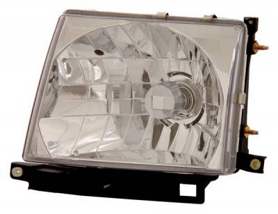 Anzo - Toyota Tacoma Anzo Headlights - Crystal & Chrome - 121132