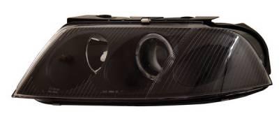 Anzo - Volkswagen Passat Anzo Projector Headlights - with Halo Black - 121134