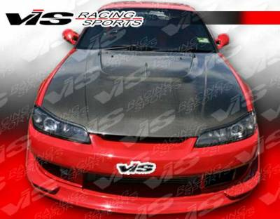 VIS Racing - Nissan Silvia VIS Racing V Speed Widebody Full Body Kit - 99NSS152DVSPWB-099