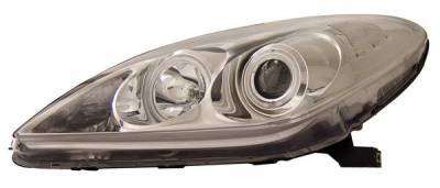 Anzo - Lexus ES Anzo Projector Headlights - with Halo - Chrome & Clear with Amber Reflectors - CCFL - 121173
