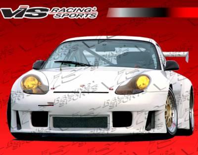 VIS Racing - Porsche 911 VIS Racing D3 RSR Wide Body Full Body Kit - 99PS9962DD3RSR-099