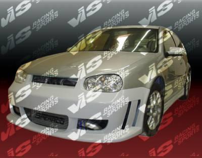 VIS Racing - Volkswagen Golf VIS Racing Titan Full Body Kit - 99VWGOF2DTT-099