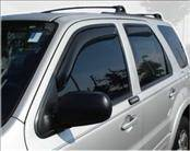 AVS - Ford Escape AVS In-Channel Ventvisor Deflector - 4PC - 194059
