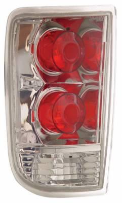 Anzo - Chevrolet Blazer Anzo Taillights - Chrome - 211004