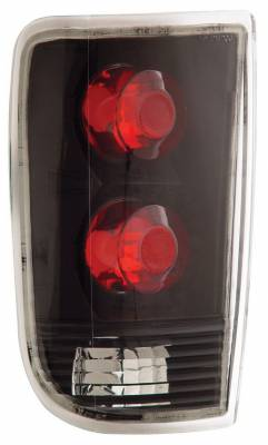 Anzo - Chevrolet Blazer Anzo Taillights - Black - 211005