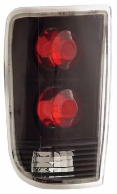 Anzo - Oldsmobile Bravada Anzo Taillights - Black - 211005