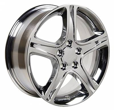 OE - 17 Inch IS Style Wheels - 4 Wheel Set