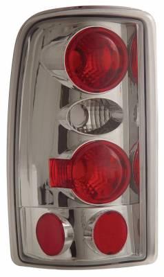Anzo - Chevrolet Suburban Anzo Taillights - Chrome - 211008