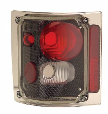 Anzo - Chevrolet CK Truck Anzo Taillights - Carbon - 211015