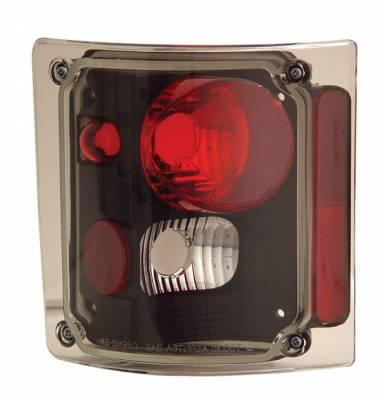 Anzo - GMC CK Truck Anzo Taillights - Black - 211016