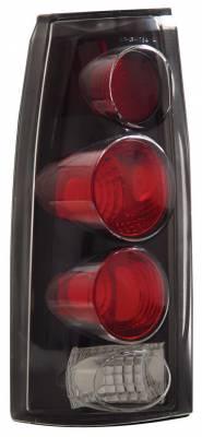 Anzo - Chevrolet Blazer Anzo Taillights - 3D Style - Black - 211019