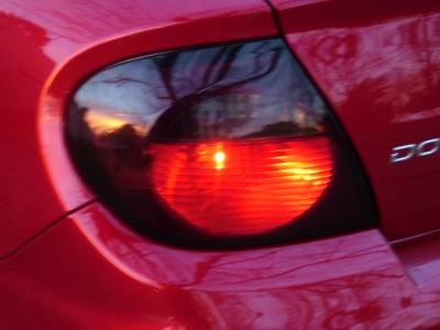 Custom - Smoked Tail Light Overlays SRT 4