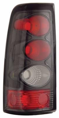 Anzo - Chevrolet Silverado Anzo Taillights - Carbon - 211021