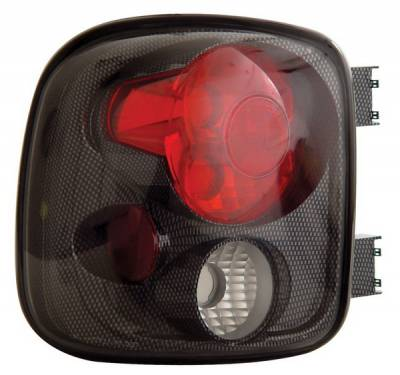 Anzo - GMC Sierra Anzo Taillights - Carbon - 211027