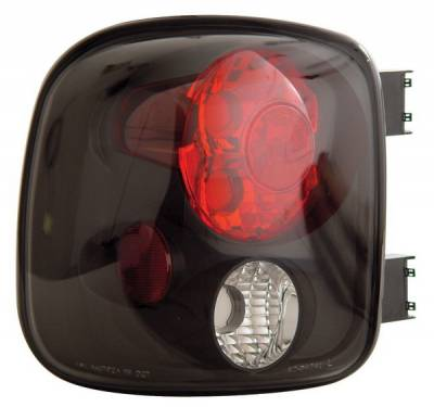 Anzo - GMC Sierra Anzo Taillights - Black - 211028