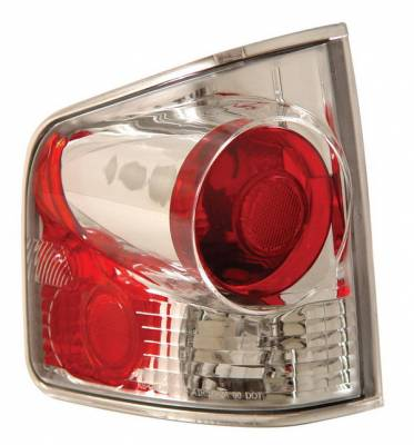 Anzo - Chevrolet S10 Anzo Taillights - 3D Style - Chrome - 211032