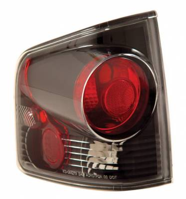 Anzo - Chevrolet S10 Anzo Taillights - 3D Style - Black - 211034