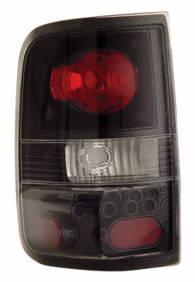 Anzo - Ford F150 Anzo Taillights - Carbon - 211059