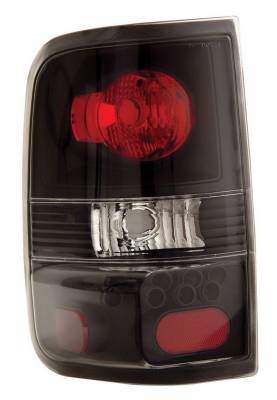 Anzo - Ford F150 Anzo Taillights - Black - 211060