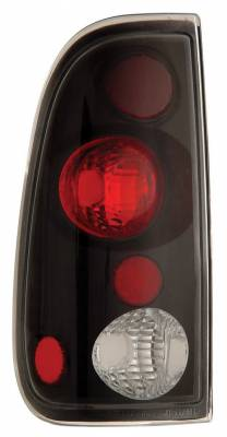 Anzo - Ford Superduty Anzo Taillights - Version 2 - Black - 211065
