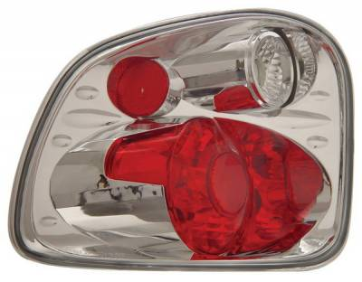 Anzo - Ford F-Series Anzo Taillights - Version 2 - Chrome - 211066