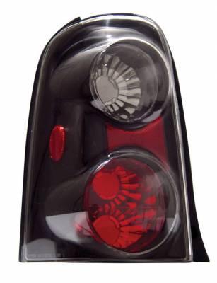 Anzo - Ford Escape Anzo Taillights - Black - 211078